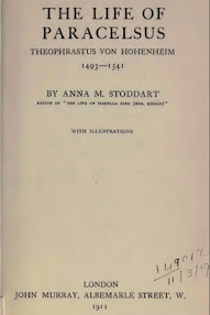 Cover of Anna Stoddart's Book The Life of Paracelsus, Theophrastus von Hohenheim