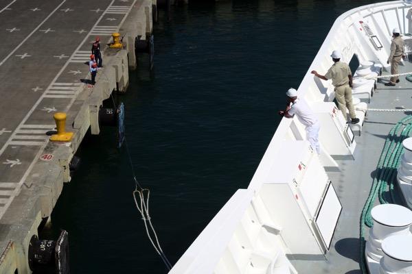 Cartagena Harbour Mooring Line
