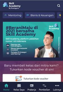 cara mendaftar skillacademy.com
