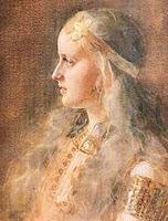 Goddess Gunnlod Image