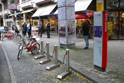 System roweru publicznego w Stuttgarcie jest obsługiwany przez niemiecką kolej państwową.