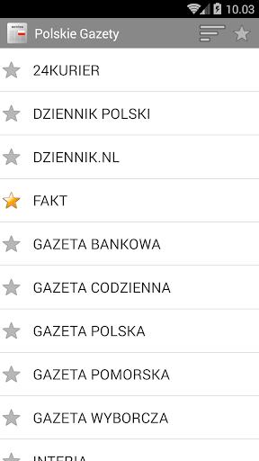Nowina - Polskie gazety