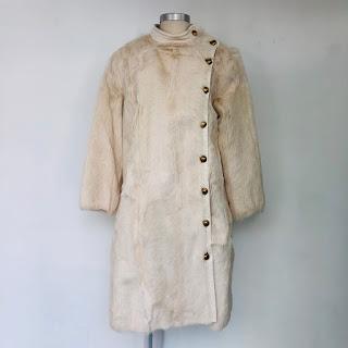 Tory Burch Goat Fur Coat