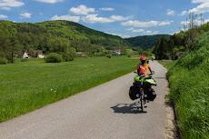 Biking in Frankenjura