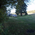Looking across Yarrangobilly Village camping area
