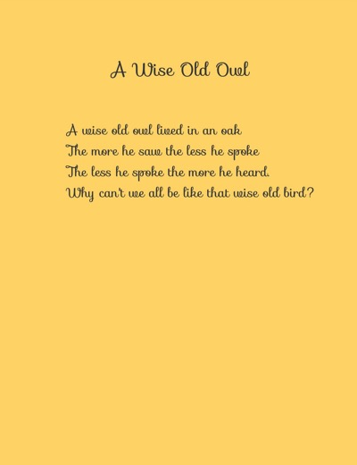 Wise old owl jpeg