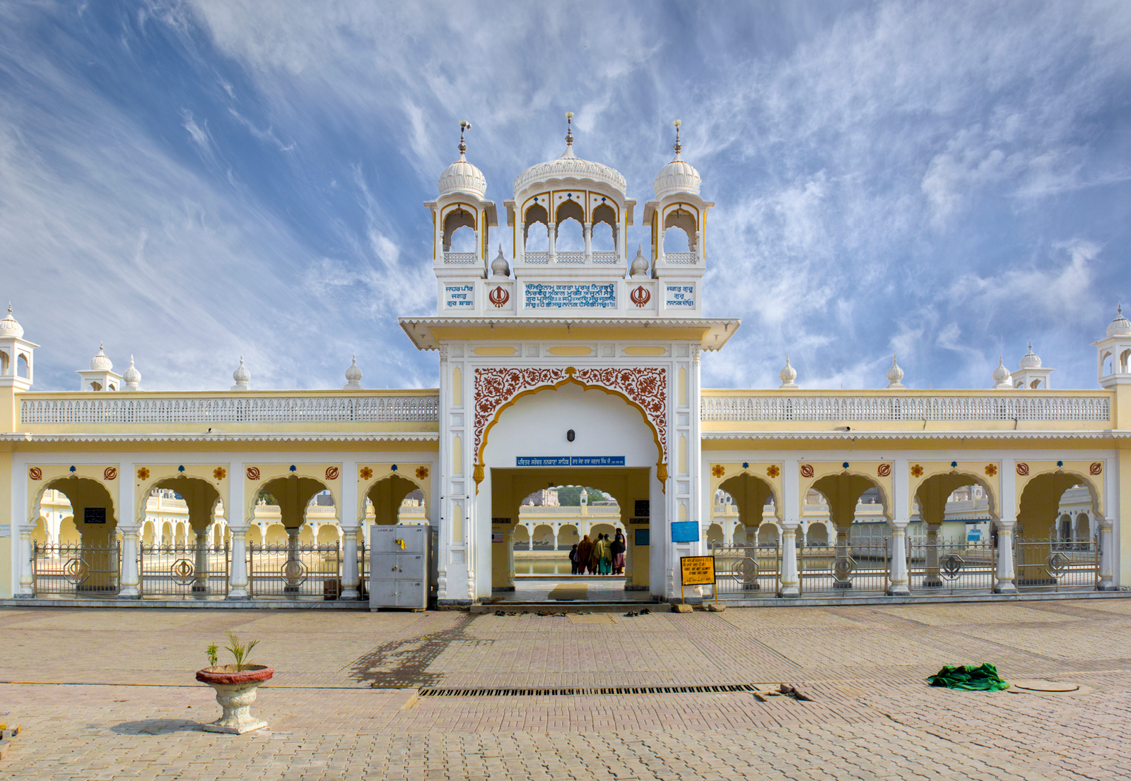 The birth city of Guru Nanak The entrance of Sarovar for