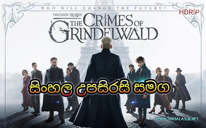 Fantastic Beasts The Crimes of Grindelwald (2018) Sinhala Subtitles   සිංහල උපසිරසි සමග   අනන්යතාවය සොයා