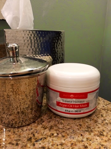 InstaNaturals Argan Oil Hair Mask www.shannongillilan.blogspot.com