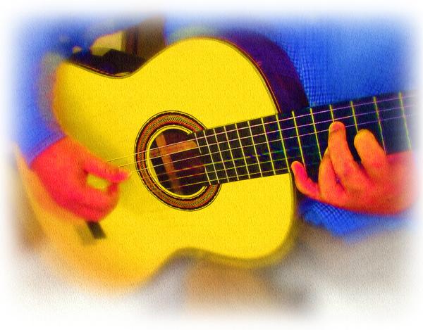 ギターを弾きましょう!!