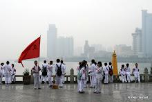 Gulangyu : vue sur Xiamen au matin