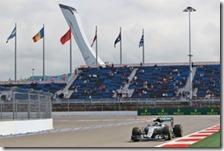 Nico Rosberg conquista la pole del gran premio di Russia 2016
