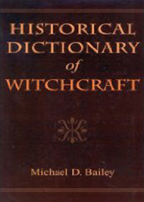 Cover of Michael Bailey's Book Historical Dictionary Of Witchcraft