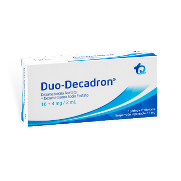 Duo-Decadron 16+4mg/2Ml