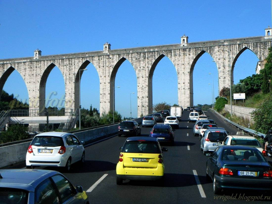 Акведук даш Агуаш Либреш aqueduto das aguas livres