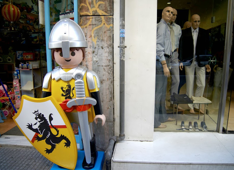 12. Shop windows at Thessaloniki