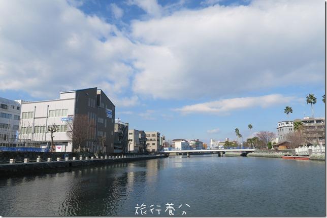 四國德島 葫蘆島周遊船 新町川水際公園 (17)