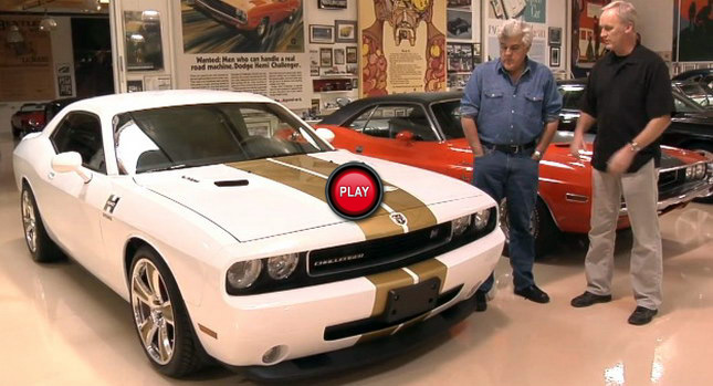 Jay Leno Takes Hurst S Supercharged Dodge Challenger