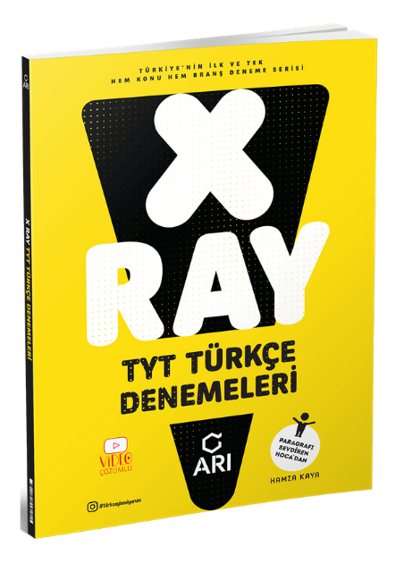 Arı Yayınları - TYT Türkçe - X-Ray Denemeleri