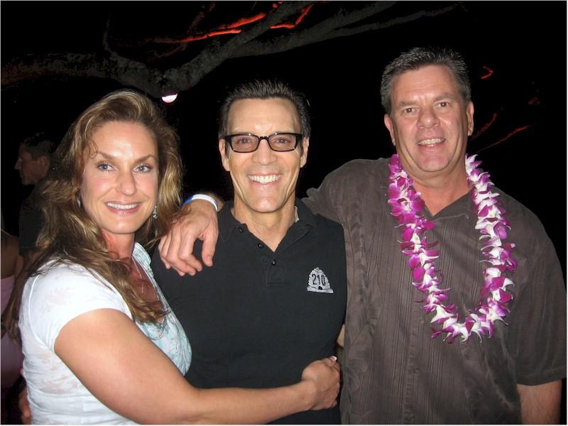 Tony Horton Angie And Blake Warrington, Tony Horton
