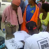 Race Registration at Okavango Half Marathon - my responsibility