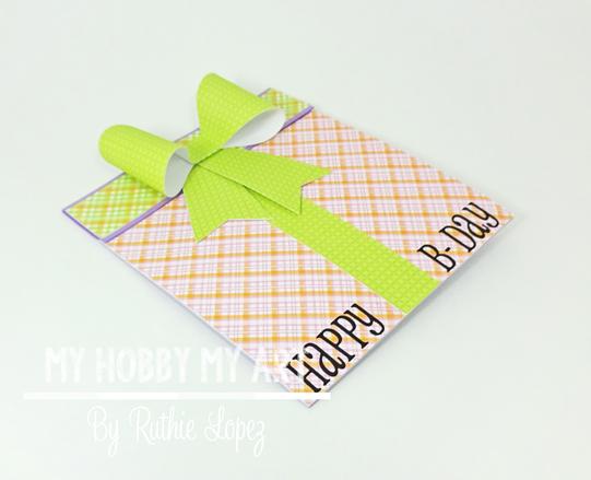 Blog Hop, Cumpleanos Laura Fernandez , Gift Card , Ruthie Lopez. 2