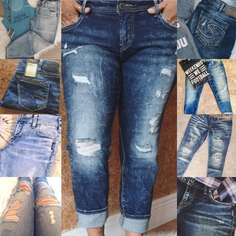 Dliteful Trends: Silver Jeans Co 2016 Photo & Style faves