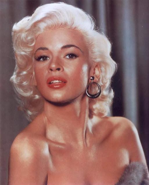 Blonde bombshell Jayne Mansfield