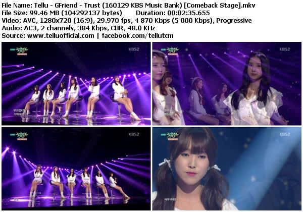 Gfriend Love Whisper Bugs K2nblog Com: Trust + Rough @ KBS Music Bank
