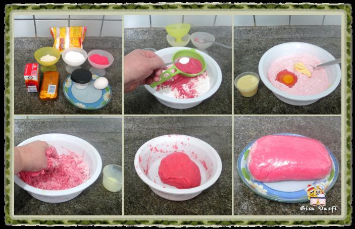 Torta de morango com massa de polvilho 3