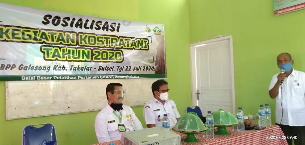 Kepala BBPP Batangkaluku  Sebut Agribisnis Dibangun Diatas Empat Subsistem