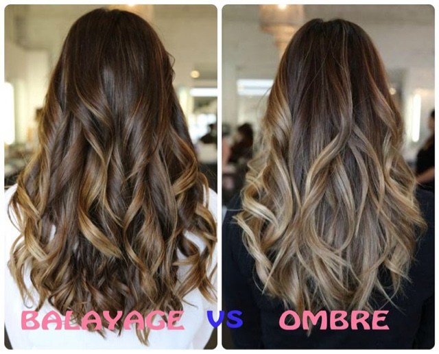 All Hair Makeover Ombre Vs Balayage Hair