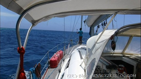Entriamo a Minerva Reef Nord