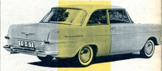 Opel Rekord 1960