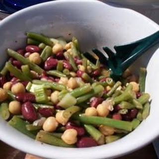 Bean Salad Garbanzo Kidney Green Recipes