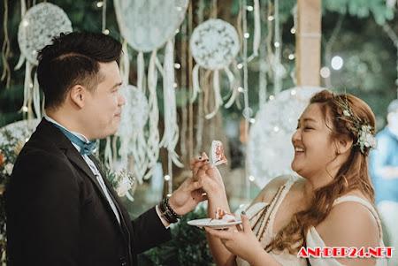 Đám cưới lênh đênh giữa vịnh Hạ Long của cặp đôi Philippines