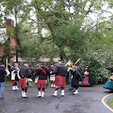 Toledo bagpipers join the 5th MI at Speigel Grove