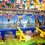 sonic games in odaiba in Odaiba, Tokyo, Japan