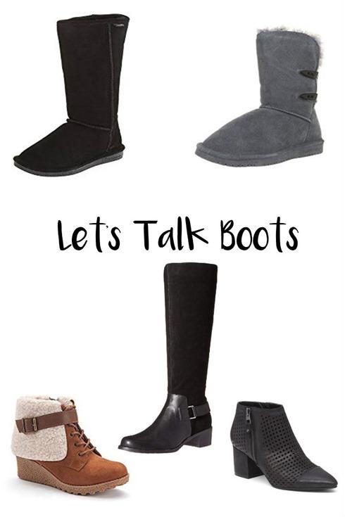 Let's Talk Boots