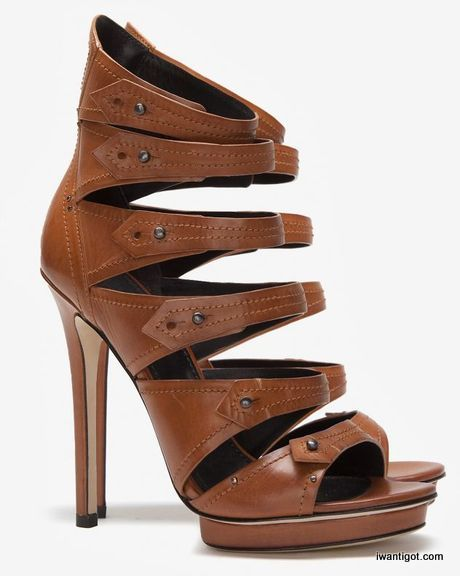 Strappy Booties by B Brian Atwood