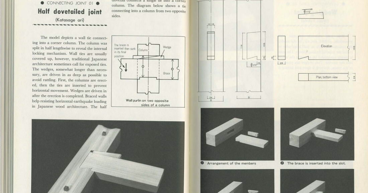 My peculiar nature: Project Mayhem Japanese joinery ...