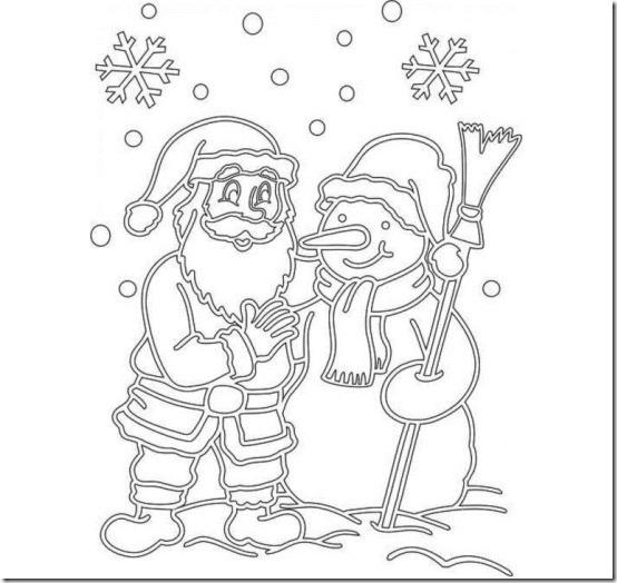 patrones para recortar ventanas navidad  (17)