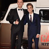 OIC - ENTSIMAGES.COM - Caspar Lee and Joe Sugg at the Joe and Caspar Hit The Road - UK film in London  22nd November 2015 premierePhoto Mobis Photos/OIC 0203 174 1069