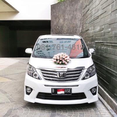 harga sewa mobil pengantin jakarta