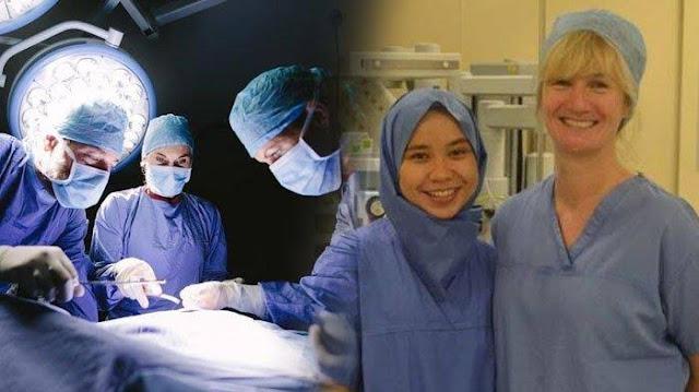 Pertama di Inggris, Dokter Gunakan Hijab Sekali Pakai untuk Operasi