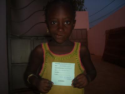Astou Diome°10/3/2006-ecole primaire Ngaparou 1