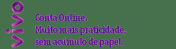 Conta Online Sua fatura Vivo Móvel chegou.