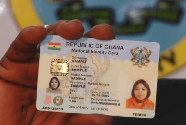 Ghana Card Replaces TIN From Today