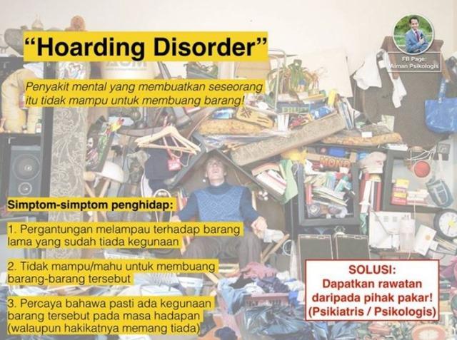 ADAKAH MUNGKIN KAK FA ADA HOARDING DISORDER (2)