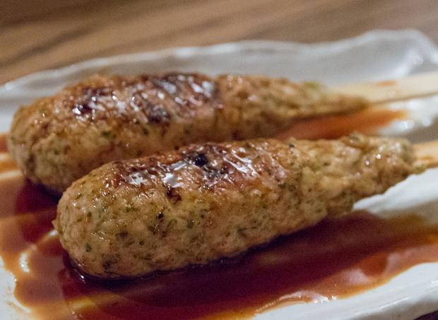 photo of Tsukune Grilled Ground Asajime Chicken